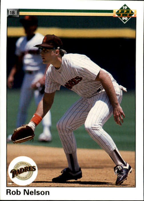 1990 Upper Deck #51 Rob Nelson