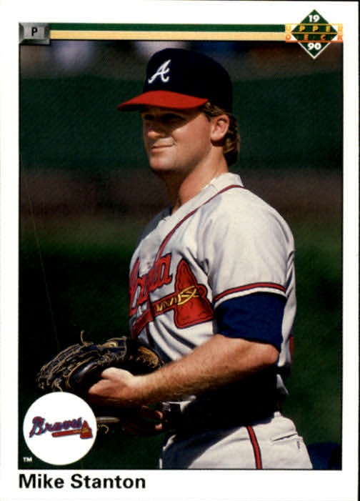 1990 Upper Deck #61 Mike Stanton RC