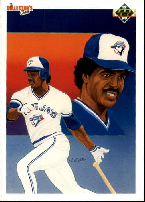 1990 Upper Deck #95 George Bell TC