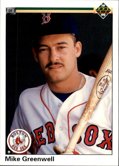 1990 Upper Deck #354 Mike Greenwell