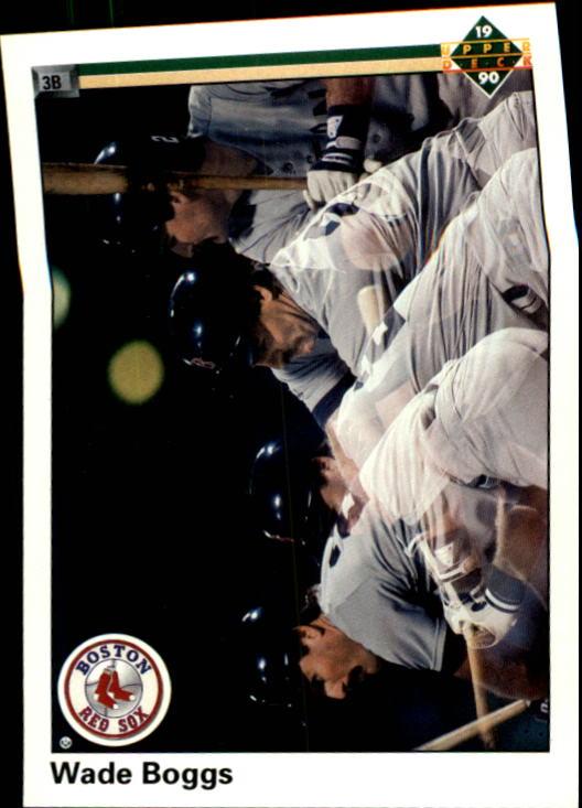1990 Upper Deck #555 Wade Boggs 4X