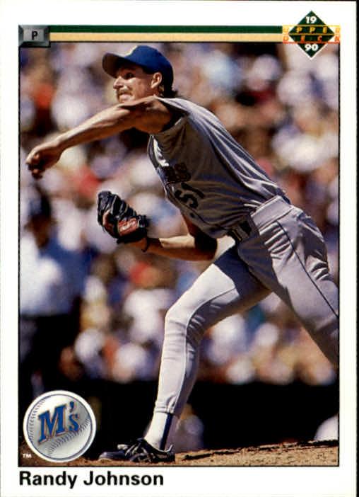 1990 Upper Deck #563 Randy Johnson