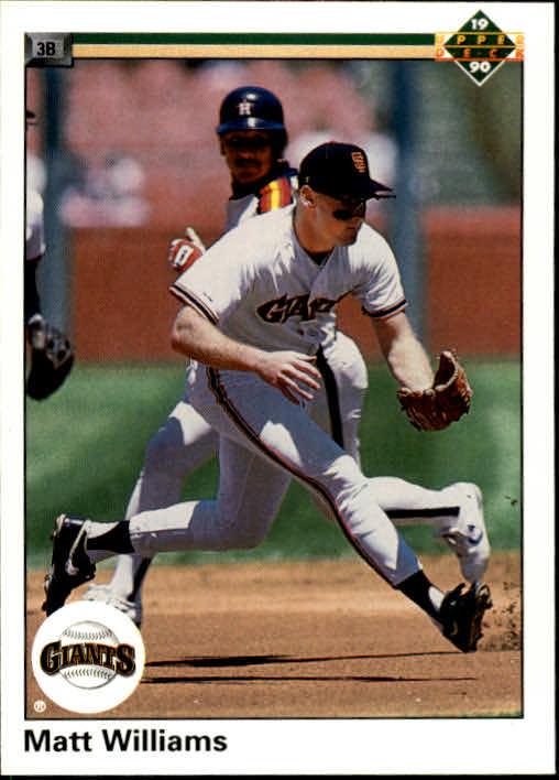 1990 Upper Deck #577 Matt Williams