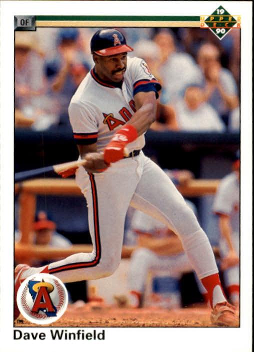 1990 Upper Deck #745 Dave Winfield