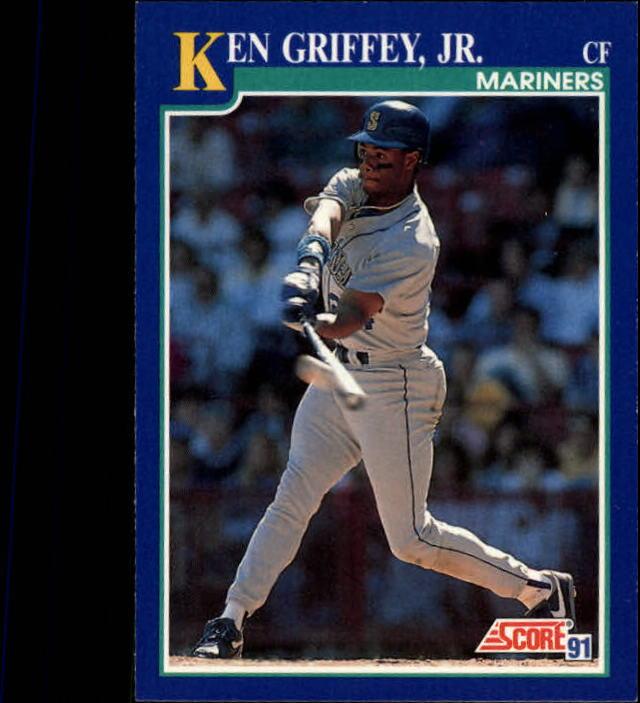 1991 Score #2 Ken Griffey Jr.
