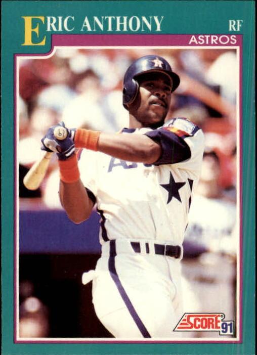 1991 Score #146 Eric Anthony