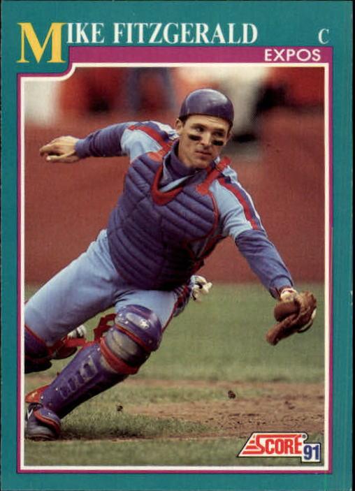 1991 Score #198 Mike Fitzgerald
