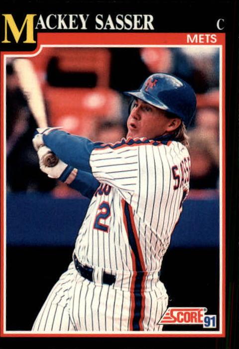 1991 Score #307 Mackey Sasser