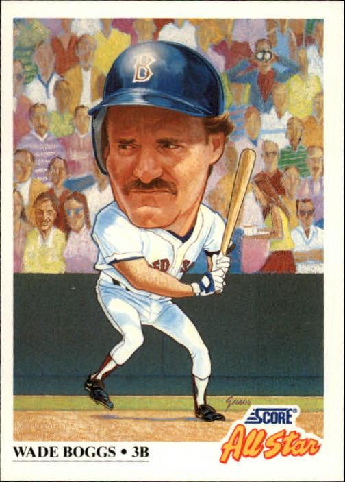 1991 Score #393 Wade Boggs AS