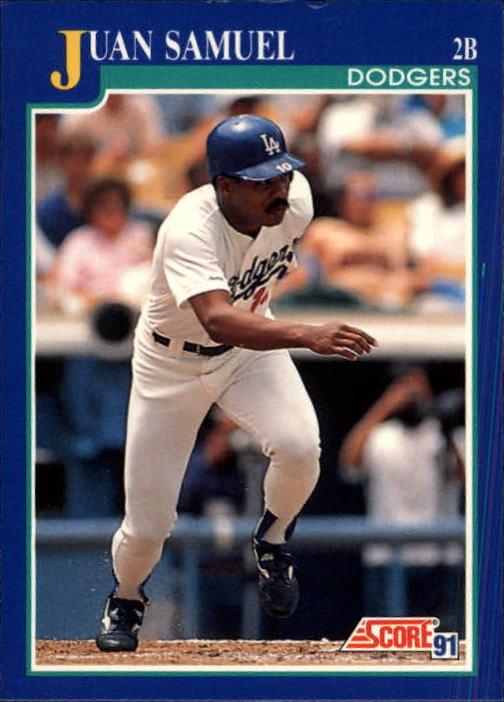 1991 Score #446 Juan Samuel
