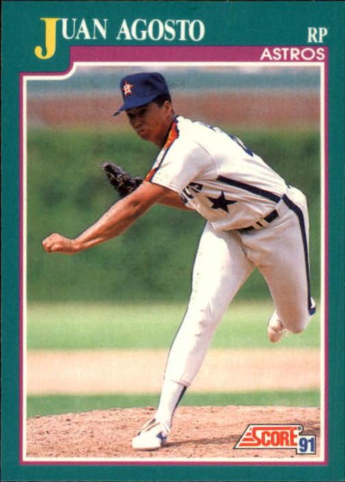 1991 Score #591 Juan Agosto