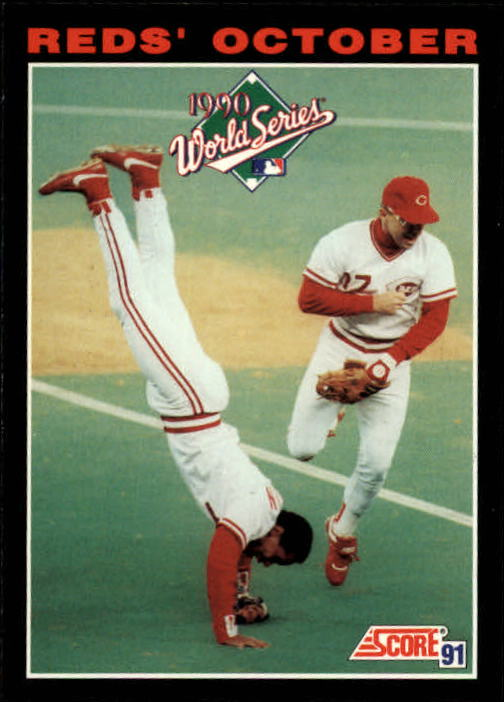 1991 Score #795 Barry Larkin WS/and Chris Sabo