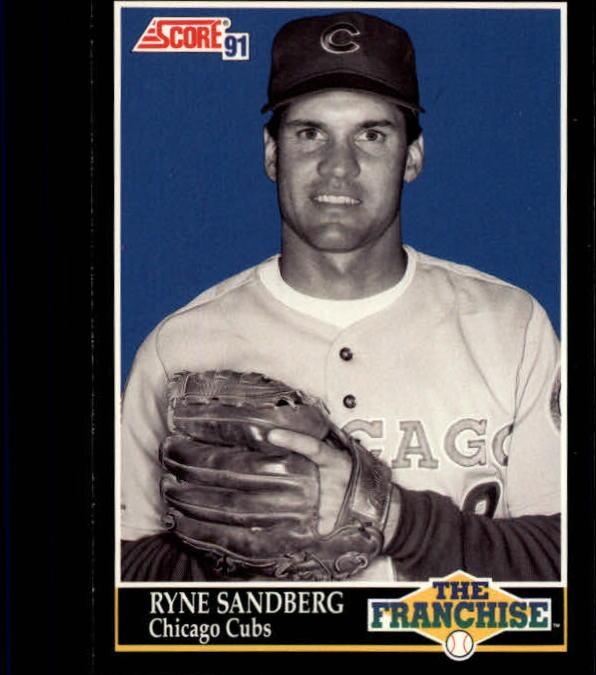 1991 Score #862 Ryne Sandberg FRAN