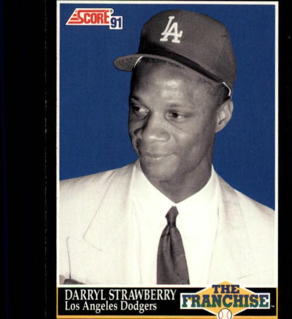 1991 Score #864 Darryl Strawberry FRAN