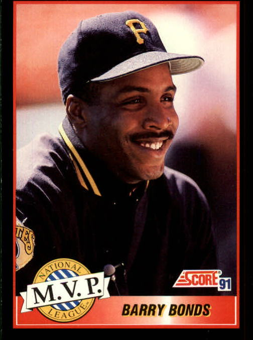 1991 Score #876 Barry Bonds MVP