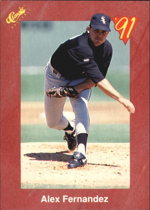 1991 Classic II #T7 Alex Fernandez