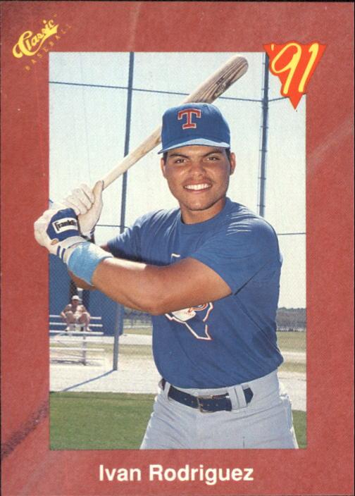1991 Classic II #T82 Ivan Rodriguez
