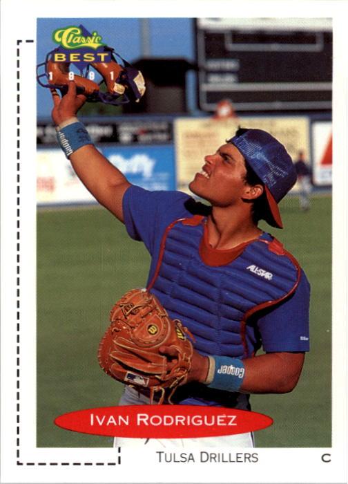 1991 Classic/Best #136 Ivan Rodriguez
