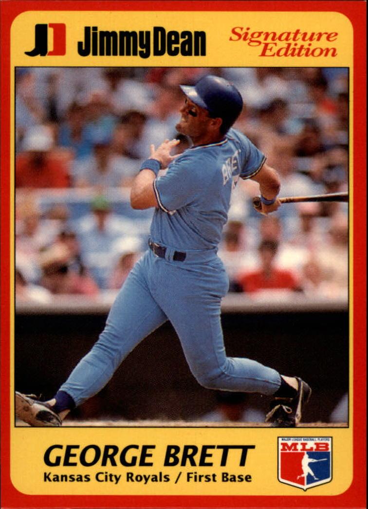 Details About 1991 Jimmy Dean Baseball Card 12 George Brett