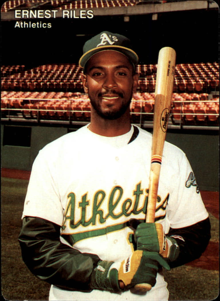 1991 A's Mother's #16 Ernest Riles