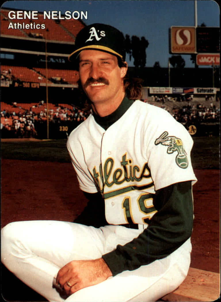 1991 A's Mother's #22 Gene Nelson