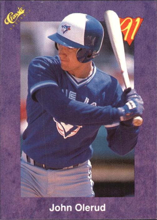 1991 Classic Game #116 John Olerud
