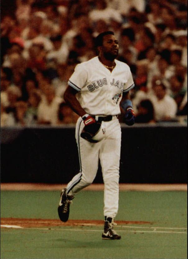 1991 Colla Joe Carter #10 Joe Carter/Batting helmet in hand