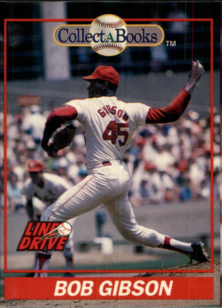 1991 Collect-A-Books #23 Bob Gibson