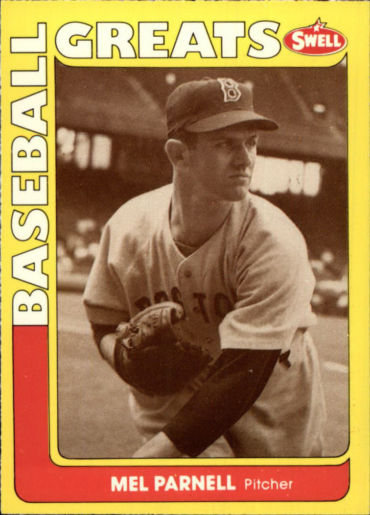 1991 Swell Baseball Greats #118 Mel Parnell