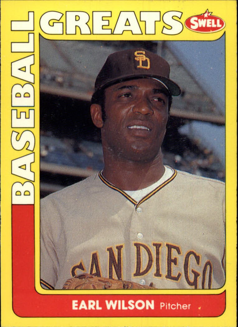 1991 Swell Baseball Greats #120 Earl Wilson