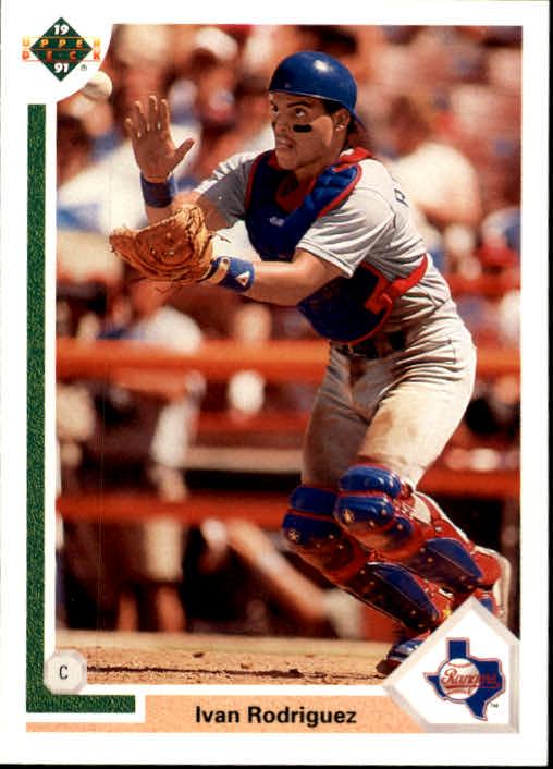1991 Upper Deck Final Edition #55F Ivan Rodriguez RC