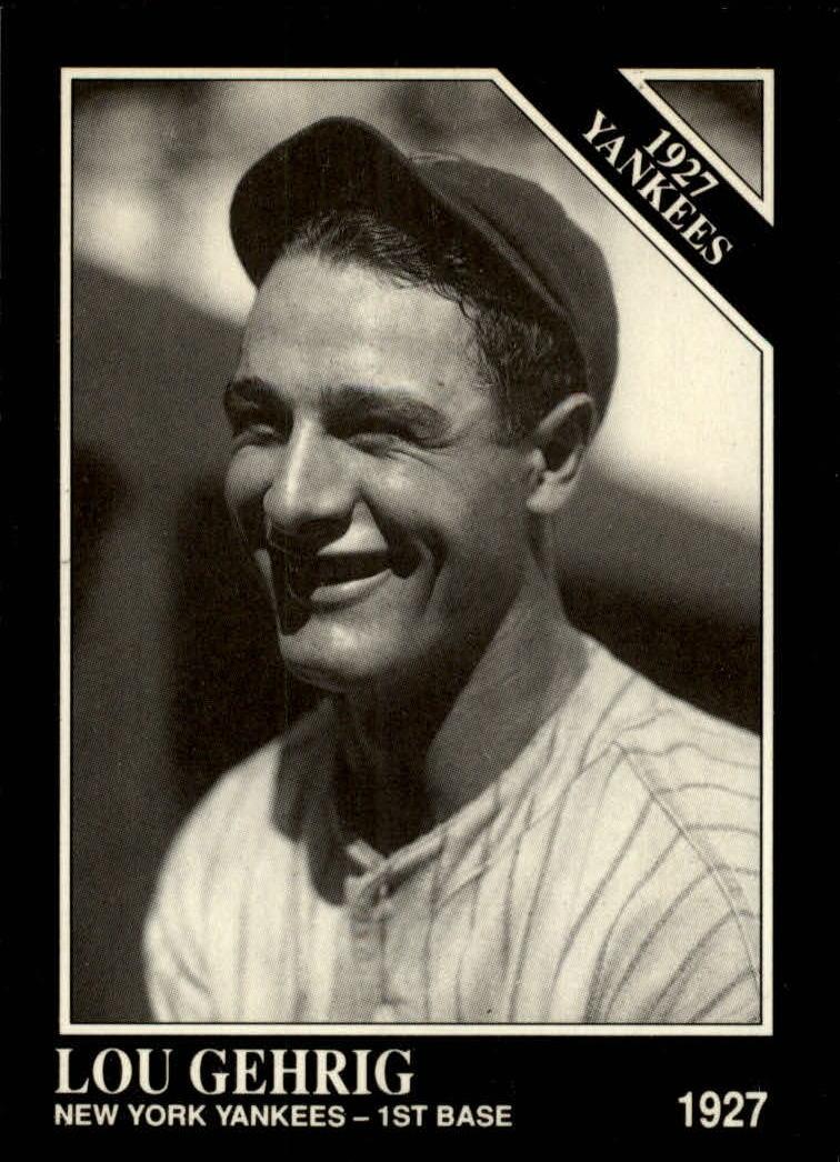 1991 Conlon TSN #111 Lou Gehrig '27NY