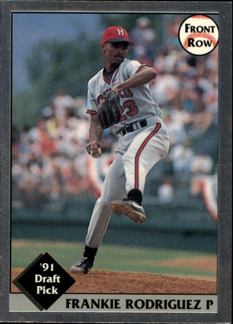 1991 Front Row Draft Picks #1 Frank Rodriguez
