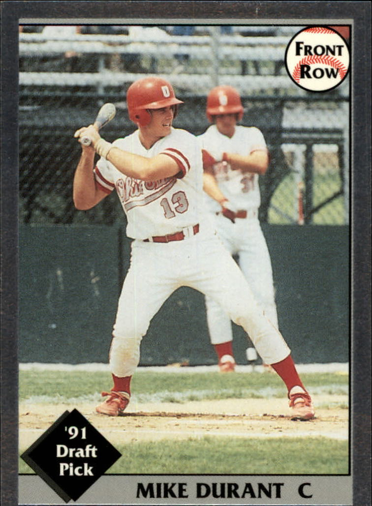 1991 Front Row Draft Picks #17 Mike Durant