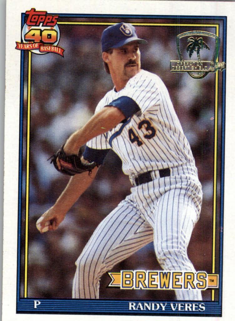 1991 Topps Desert Shield #694 Randy Veres