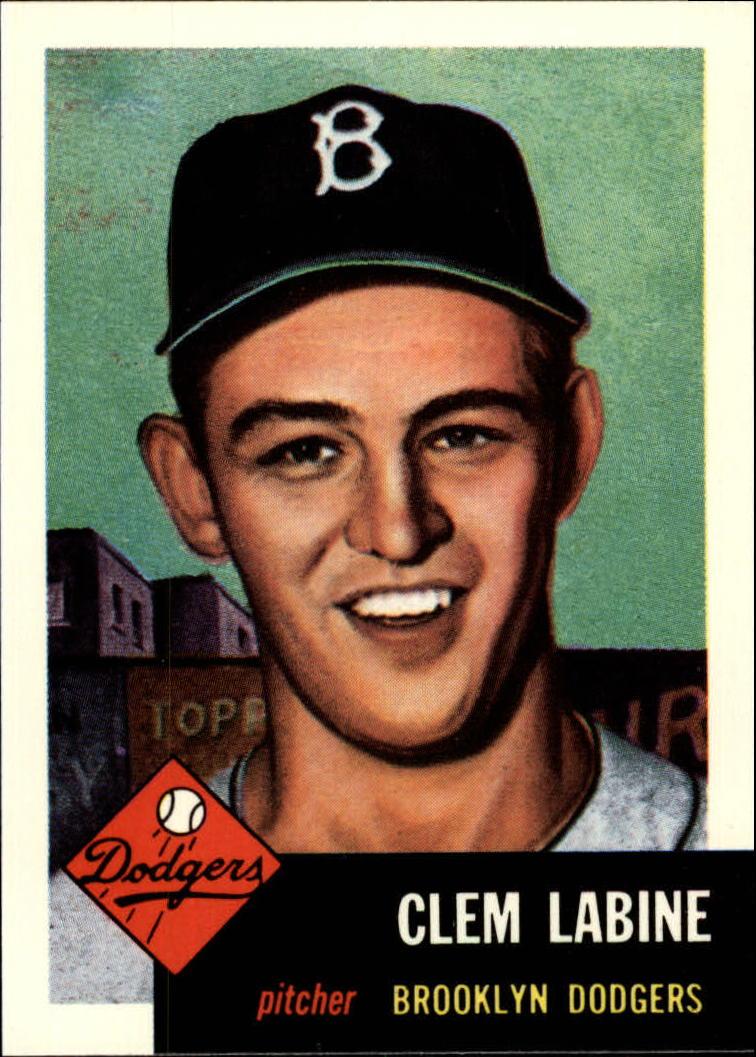 1991 Topps Archives 1953 #14 Clem Labine