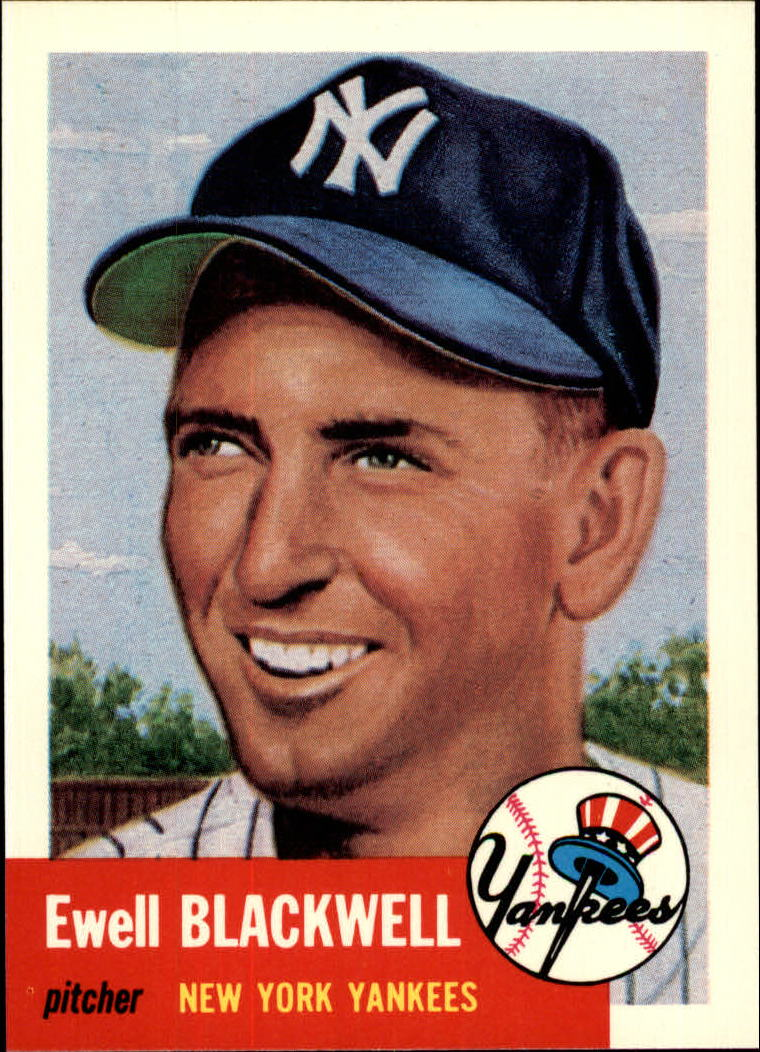1991 Topps Archives 1953 #31 Ewell Blackwell