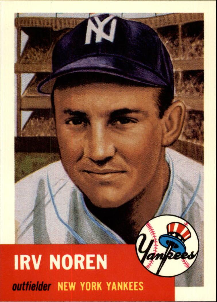 1991 Topps Archives 1953 #35 Irv Noren
