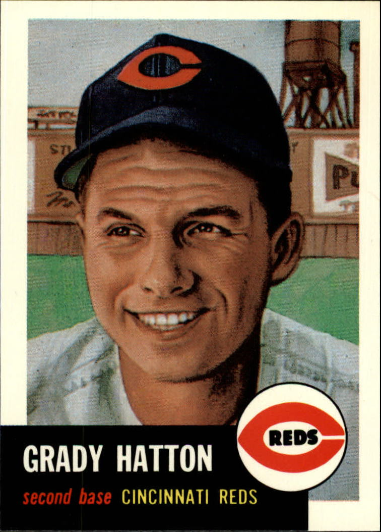 1991 Topps Archives 1953 #45 Grady Hatton