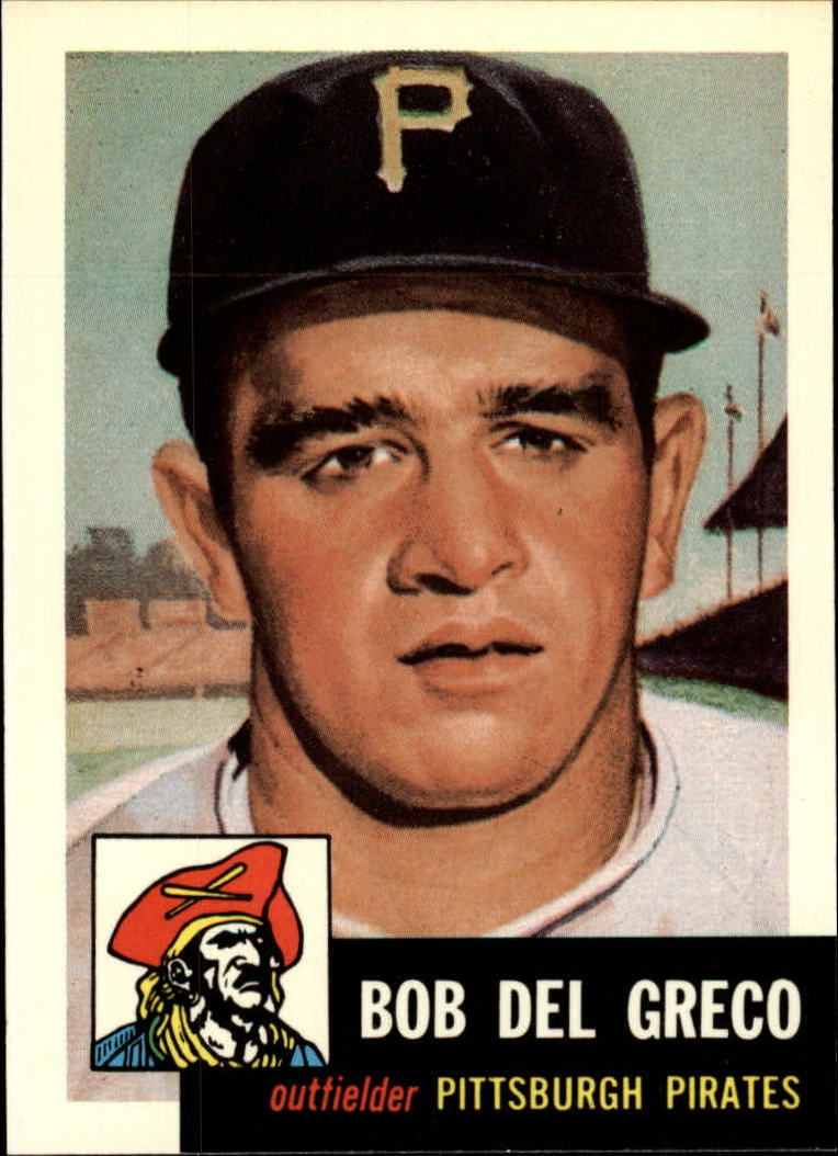 1991 Topps Archives 1953 #48 Bob Del Greco