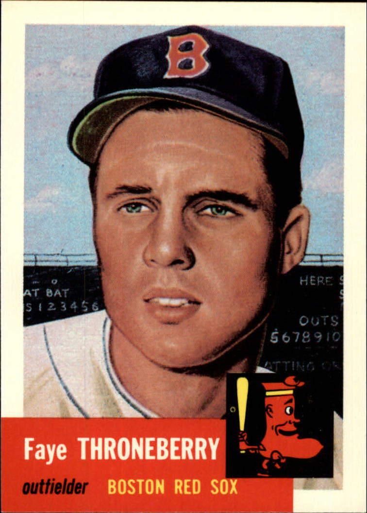 1991 Topps Archives 1953 #49 Faye Throneberry