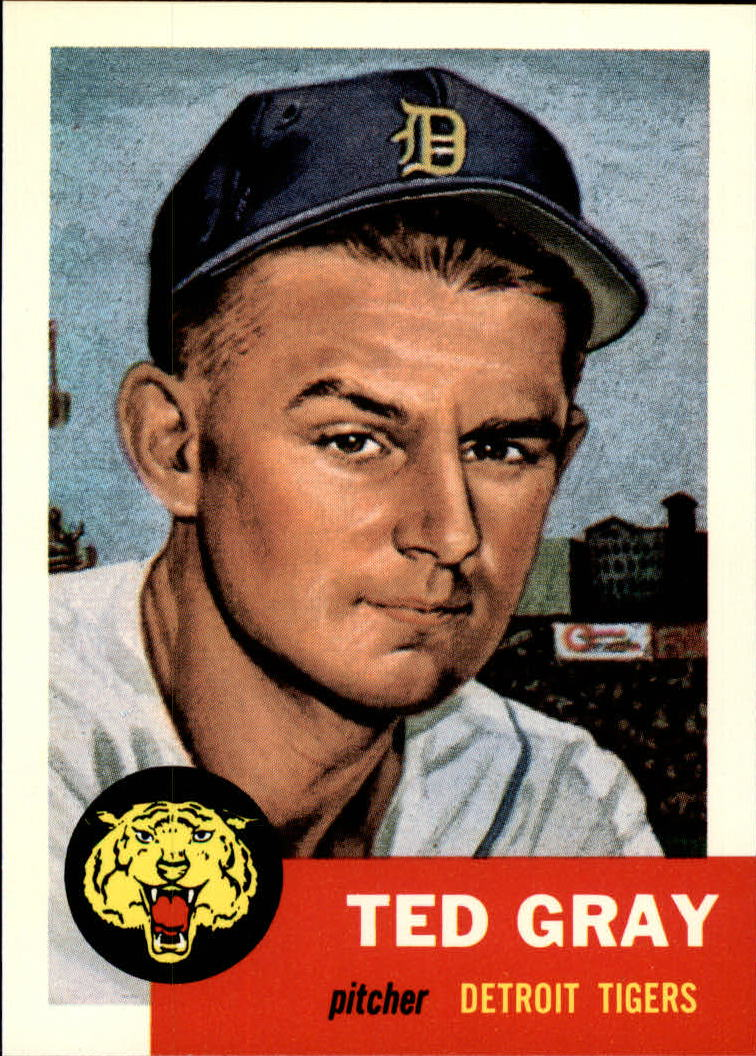 1991 Topps Archives 1953 #52 Ted Gray