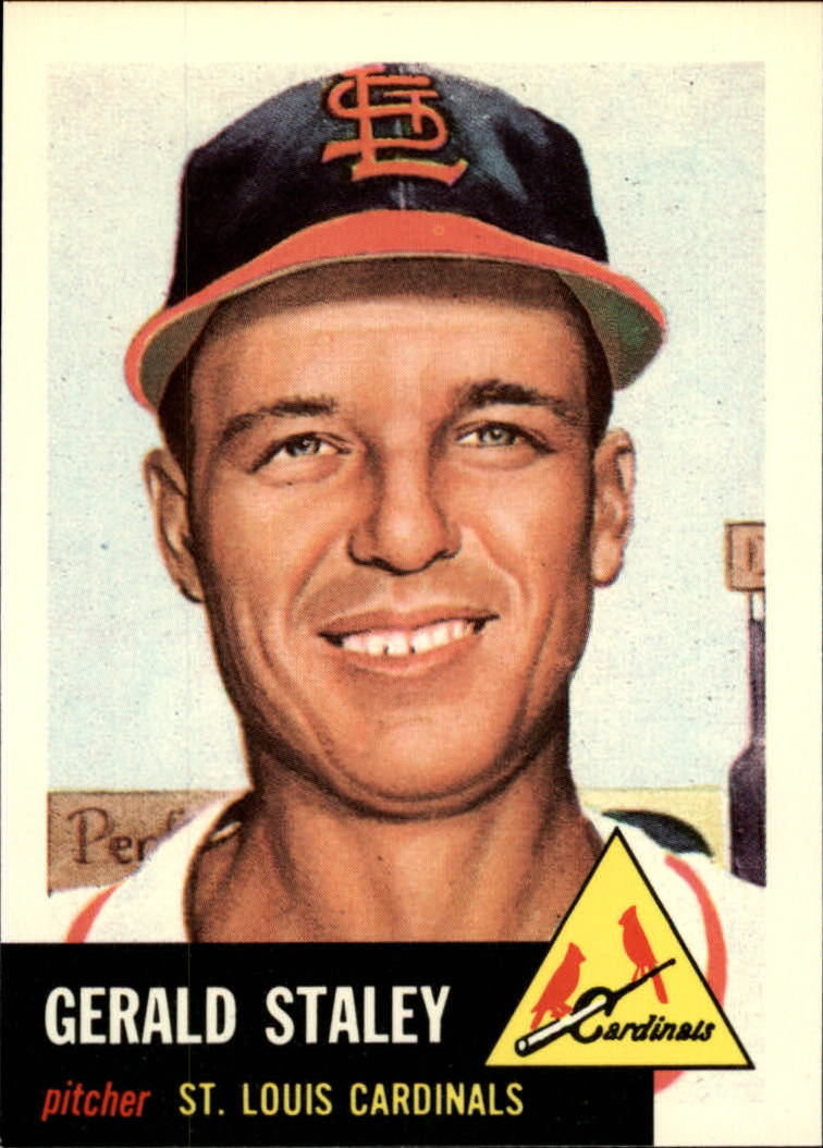 1991 Topps Archives 1953 #56 Gerry Staley