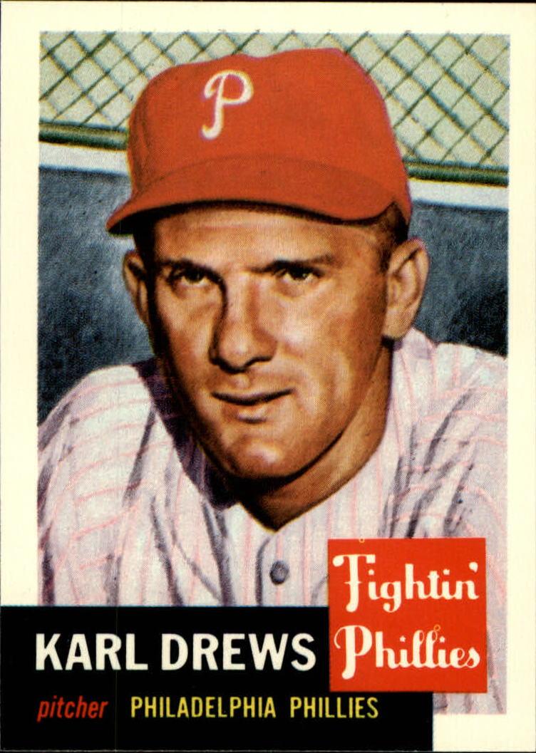 1991 Topps Archives 1953 #59 Karl Drews