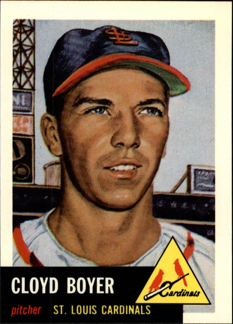 1991 Topps Archives 1953 #60 Cloyd Boyer