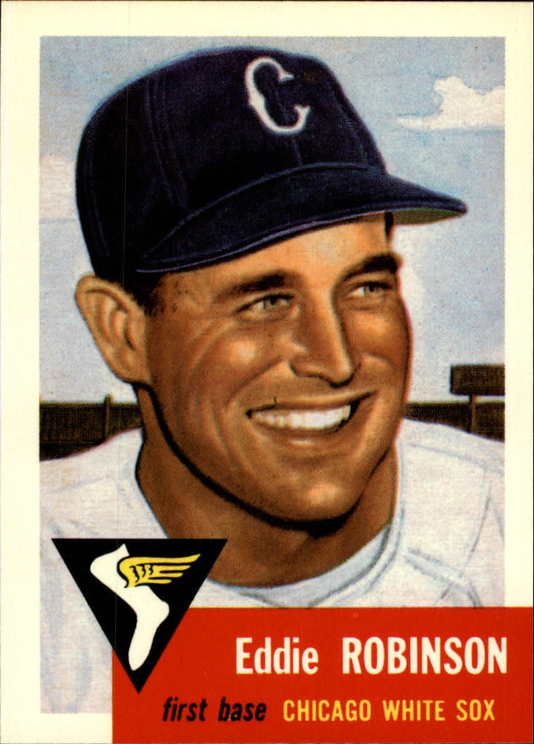1991 Topps Archives 1953 #73 Eddie Robinson