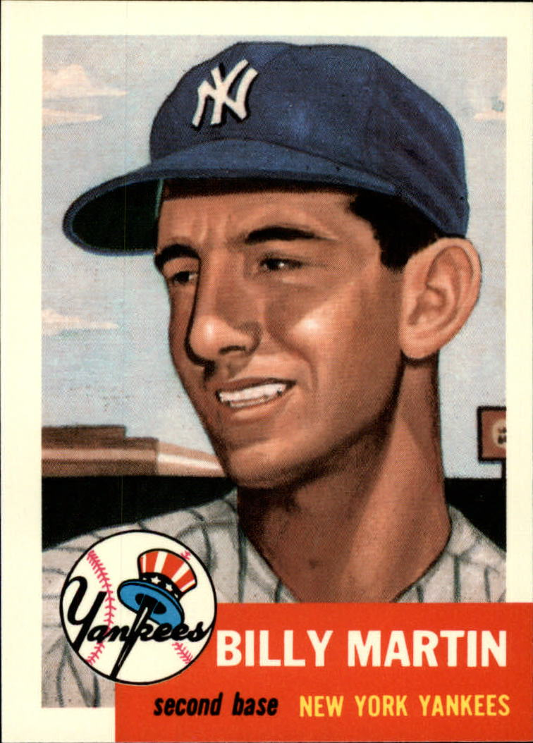1991 Topps Archives 1953 #86 Billy Martin