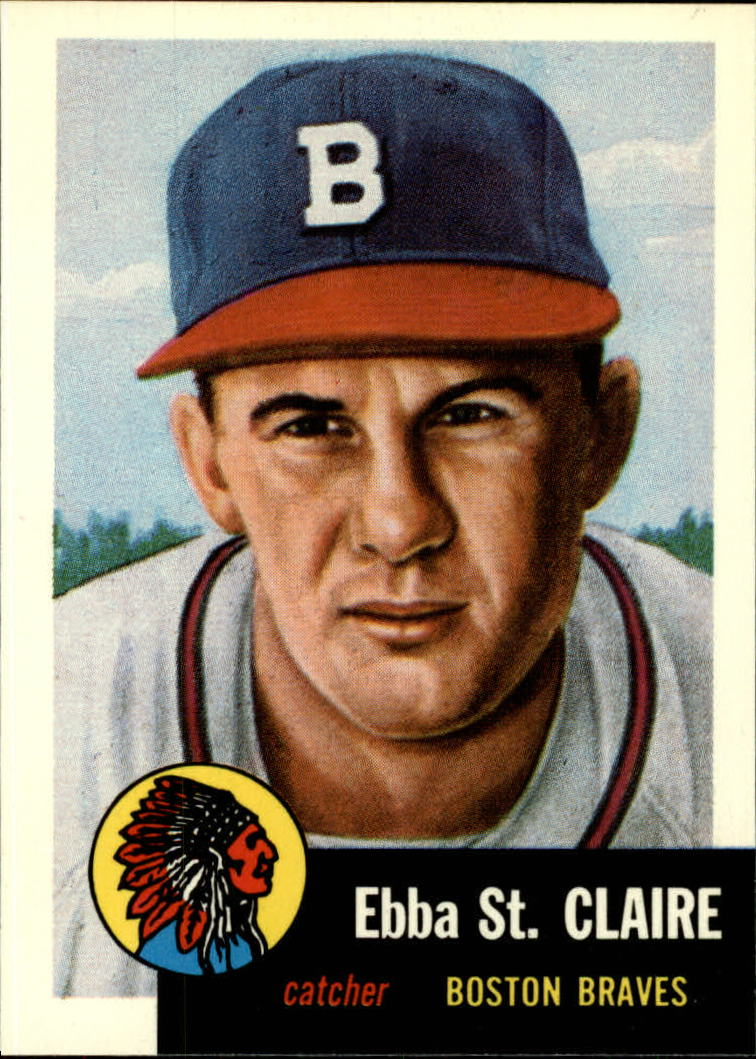 1991 Topps Archives 1953 #91 Ebba St.Claire