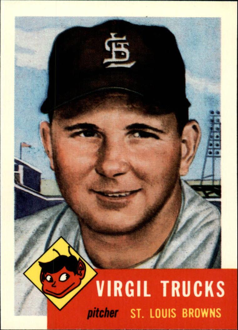 1991 Topps Archives 1953 #96 Virgil Trucks