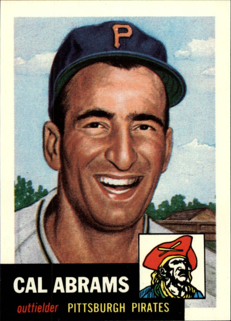 1991 Topps Archives 1953 #98 Cal Abrams